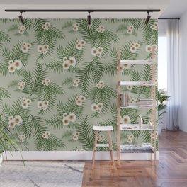 Vintage Jungle Pattern #society6 #decor #buyart Wall Mural