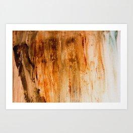 Patina Hint Art Print