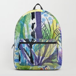 Where the armadillo lives -kids illustration Backpack