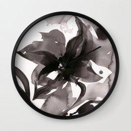 Organic Impressions No. 50 by Kathy Morton Stanion Wall Clock