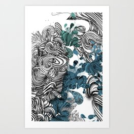 Floraldesign #001 Art Print