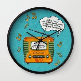 God Is The DJ Wall Clock