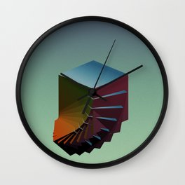 Landfill II Wall Clock