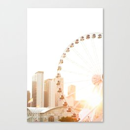 Chicago's Ferris Wheel Canvas Print