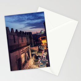 They glisten on the horizon Stationery Cards