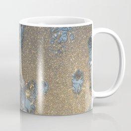 Christmas window,  Frost Art by Winter Coffee Mug