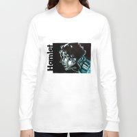 hamlet Long Sleeve T-shirts featuring Barbican Hamlet by aleksandraylisk