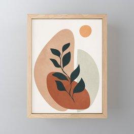 Soft Shapes II Framed Mini Art Print