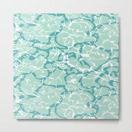 Water Camo Metal Print