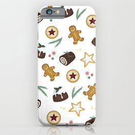 Holiday Treats iPhone Case