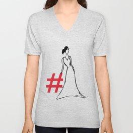 Hashtag Fashion Unisex V-Neck