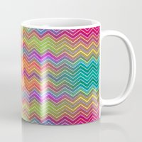 hippy Mugs featuring Hippy 2 by HK Chik