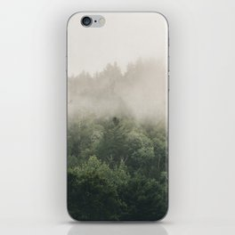 Forest Fog Photography | Woods | Misty | Mist | Forest Dew | Kaszuby Canada | Nature Photography iPhone Skin