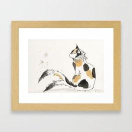 Nekomata Framed Art Print