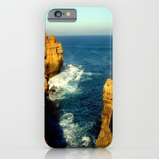 As the sunsets over the Limestone Cliffs iPhone & iPod Case