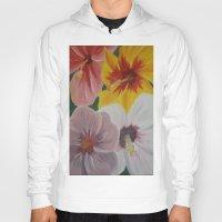 hibiscus Hoodies featuring Hibiscus by Lark Nouveau Studio