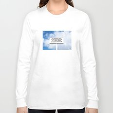 NOTKNOWING pt 2 Long Sleeve T-shirt
