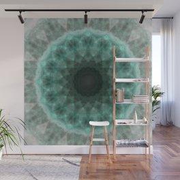 N-dimension projection # 2 (mandala) Wall Mural