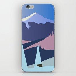 Mount Hood Wintersun iPhone Skin