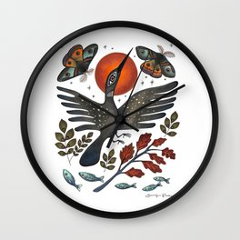 The Gift of Reincarnation Wall Clock
