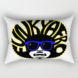 funkafro for all you soul funk brothers out there t shirt hoodies and more Rectangular Pillow