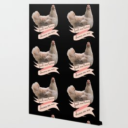 Angry Fowl Foul Me Once Shame on You Fowl Me Twice Shame on Me Funny Chicken Lover Gift Wallpaper
