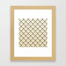 Mod Lt Sandalwood Framed Art Print