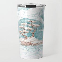 Arctic Mirage Travel Mug