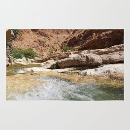 Wadi Shab Tiwi Oman Rug
