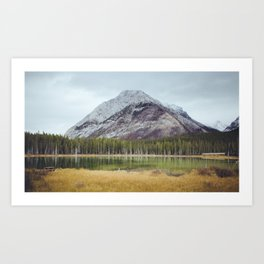 Buller Mountain Art Print