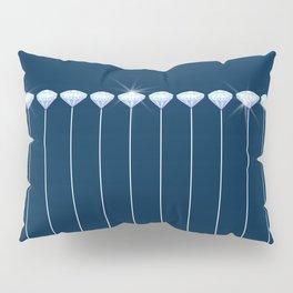 Pinstripe in Diamond Head Pins Pillow Sham
