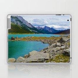 Medicine Lake in the Maligne Valley of Jasper National Park, Canada Laptop & iPad Skin