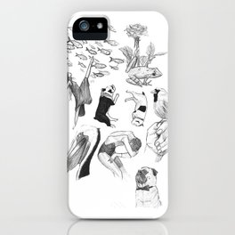 Ink Thoughts One iPhone Case