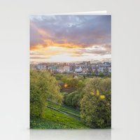 edinburgh Stationery Cards featuring EDINBURGH by Marte Stromme