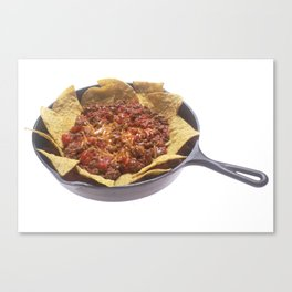 Chili Cheese Nachos Canvas Print