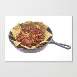 Chili Cheese Nachos Canvas Print