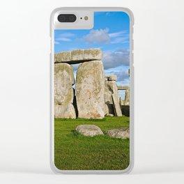 Stonehenge Clear iPhone Case