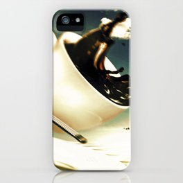 "Dancing Food ""Coffee"" iPhone Case"