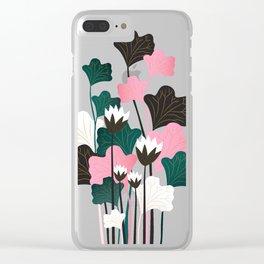 Lotus Scene Clear iPhone Case