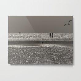 Lumières maritimes Metal Print