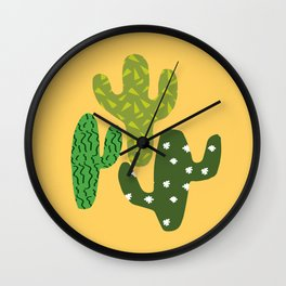 Cactus (Minimal) Wall Clock