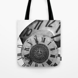 The measurement of time Tote Bag
