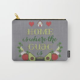 Home is where the Guac is Carry-All Pouch