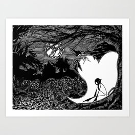 One From The Heart Art Print