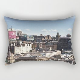 Glasgow with a view Rectangular Pillow