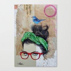 TUNISIA POSTCARD Canvas Print