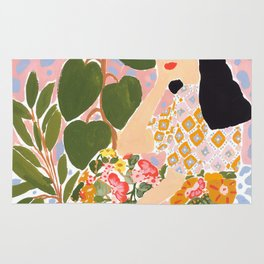 Botanical Lady Rug