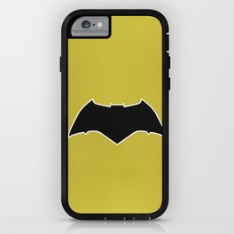 Dawn of Justice : Bat Symbol iPhone Case