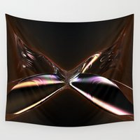 wings Wall Tapestries featuring Wings by GC