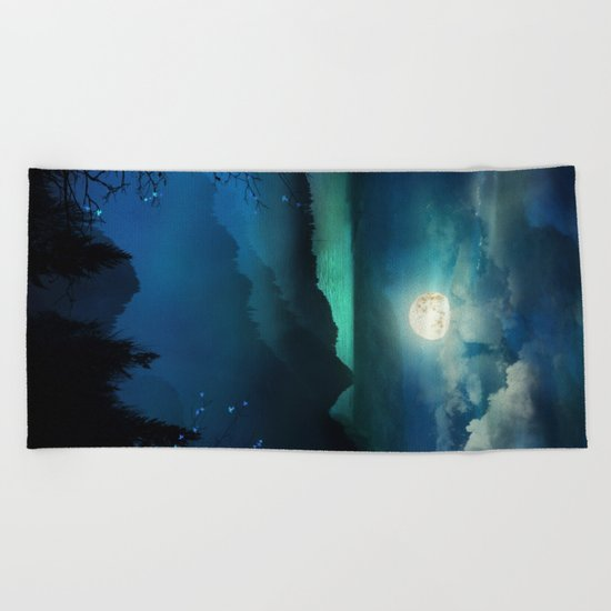 Wish You Were Here (Chapter V) Beach Towel